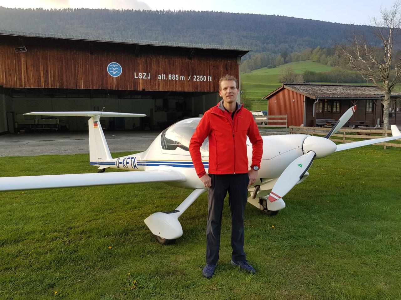 Bravo à notre nouveau pilote TMG!